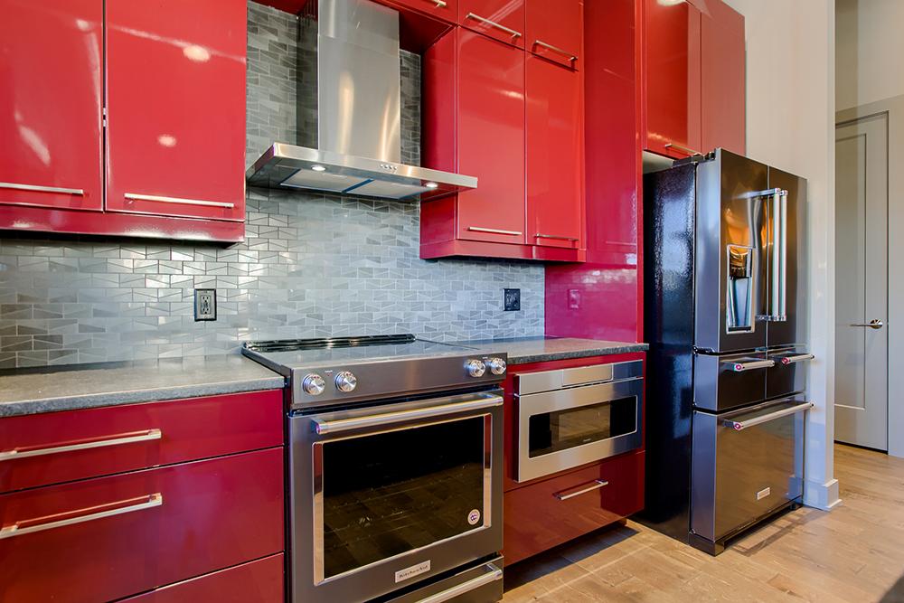 Downtown Condo Kitchen Storage
