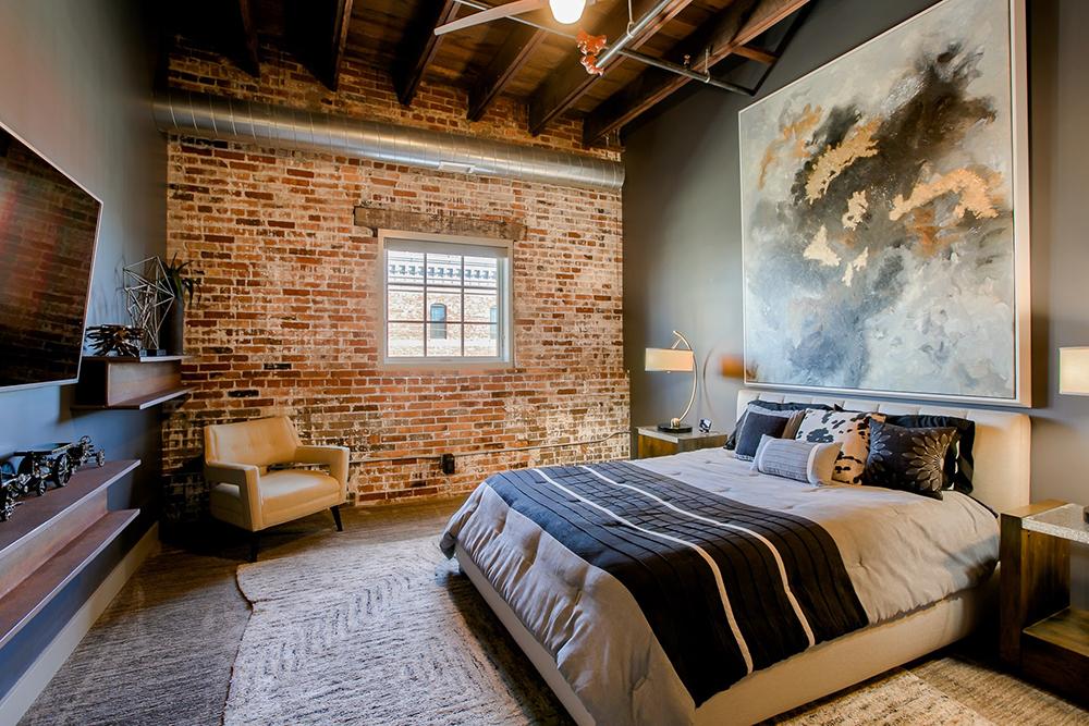 Downtown Condo Bedroom