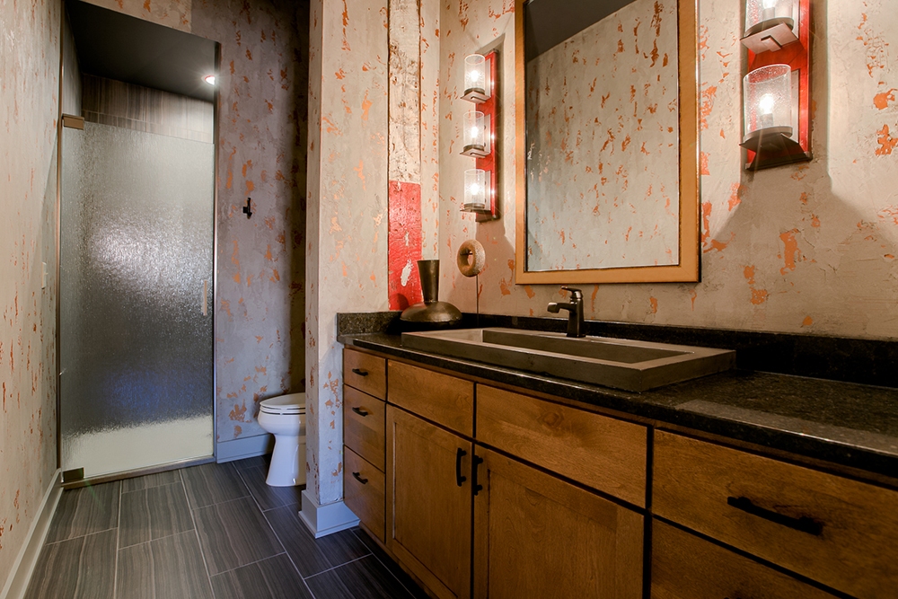 Downtown Condo Bathroom